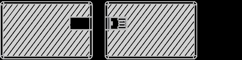 USB kaart Laser gravering