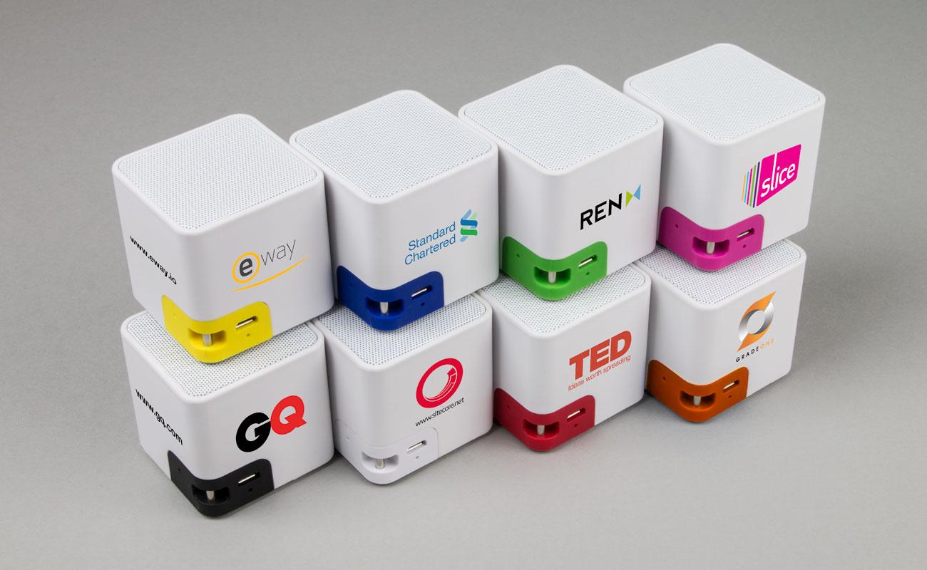 Cube - Luidspreker Logo