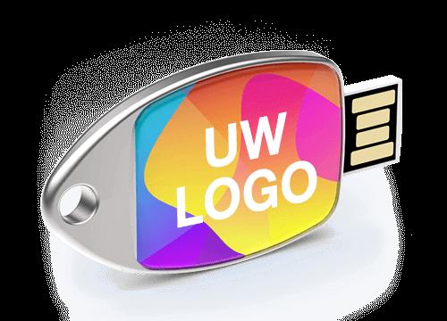 Fin - USB Stick Bedrukken