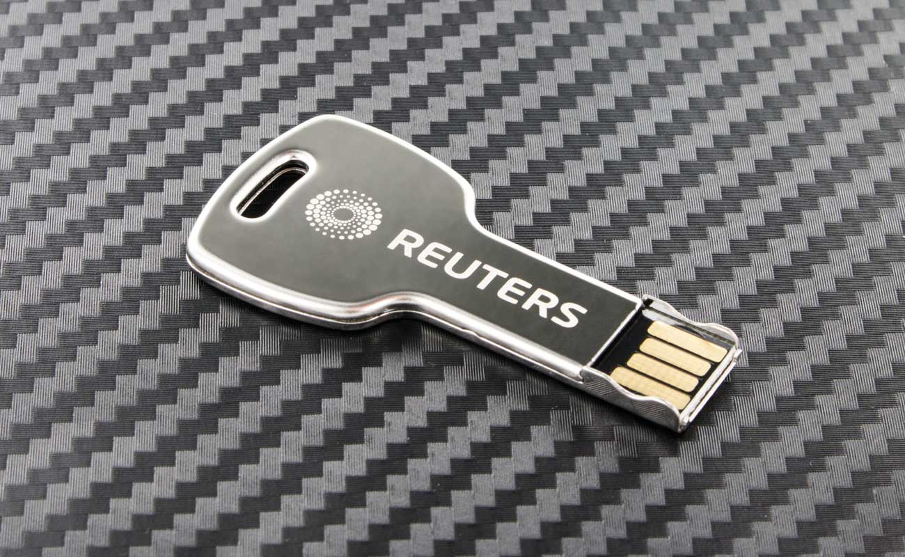 Key - USB Stick Bedrukken