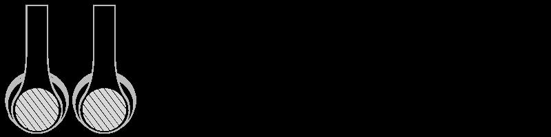 Bluetooth® koptelefoon Zeefdruk