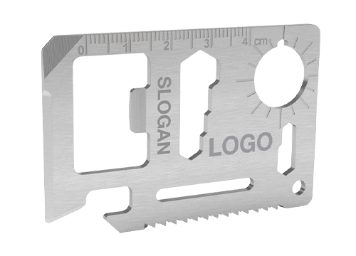 Kit - Bedrukte Credit Card Multi Tool