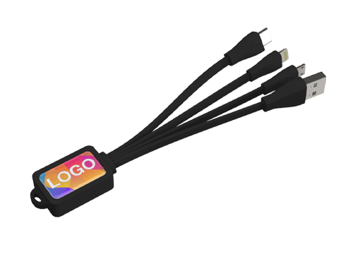 Multi - Gepersonaliseerde Octopus USB kabel