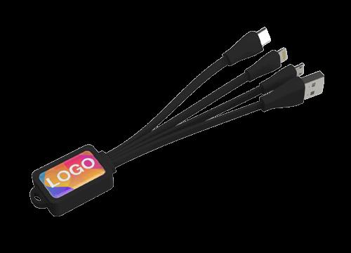 Multi - Bedrukte Octopus oplaad USB kabel set