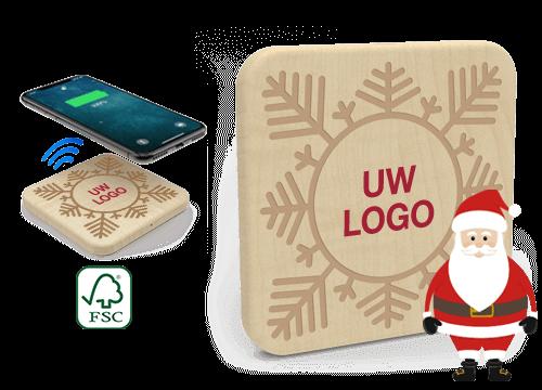 Forest Christmas - Relatiegeschenk Prijs Draadloos Opladers