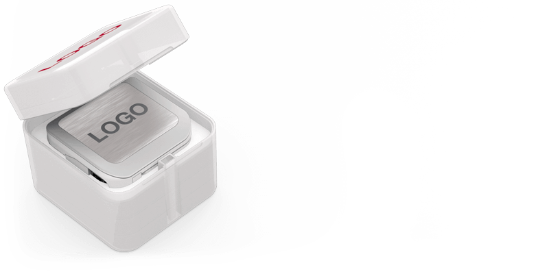 Bridge - Powerbank Met Logo