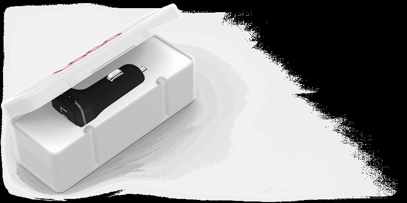 Master - USB Auto Oplader Promotie