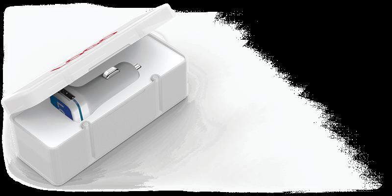 Vista - USB Auto Oplader Promotie