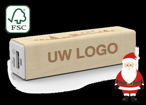 Maple Christmas - Powerbank Logo
