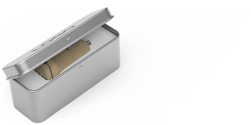 Woodie - Gepersonaliseerde USB Auto lader