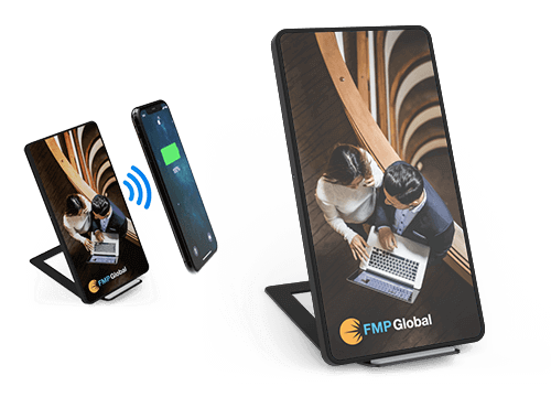 Stand - Customizable Wireless Charging Pad
