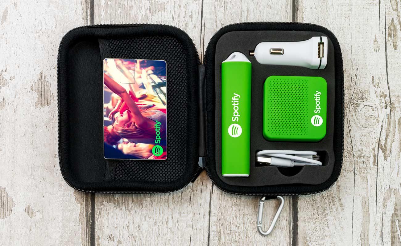 Impact L - USB Stick Bedrukken, Powerbank Bedrukken, Custom Car Charger en Luidspreker Logo