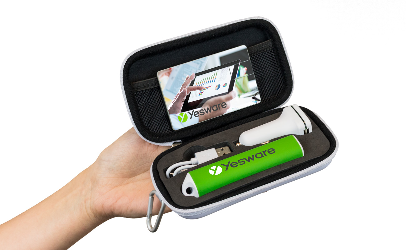 Impact M - USB Stick Bedrukken, Powerbank Bedrukken en Custom Car Charger