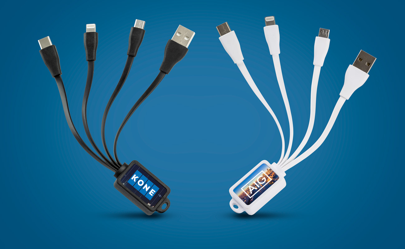 Multi - Gepersonaliseerde Octopus USB kabel