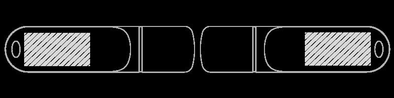 USB stick Zeefdruk