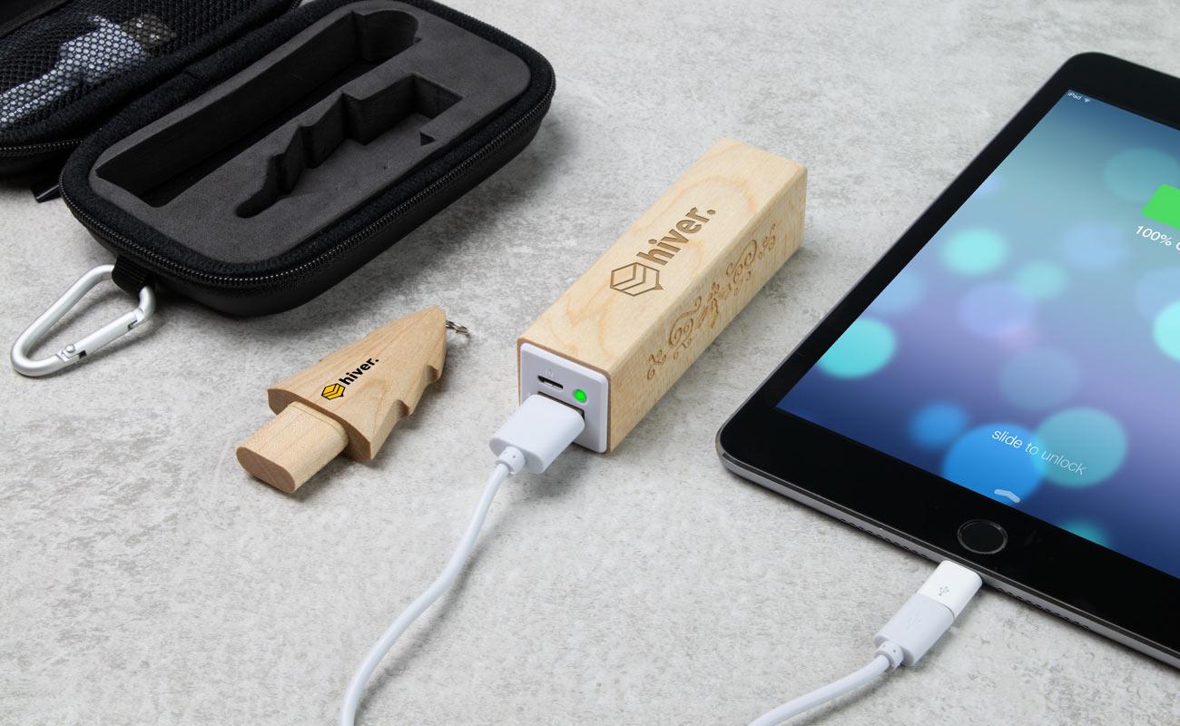 Noel S - USB Stick Bedrukken en Powerbank Bedrukken