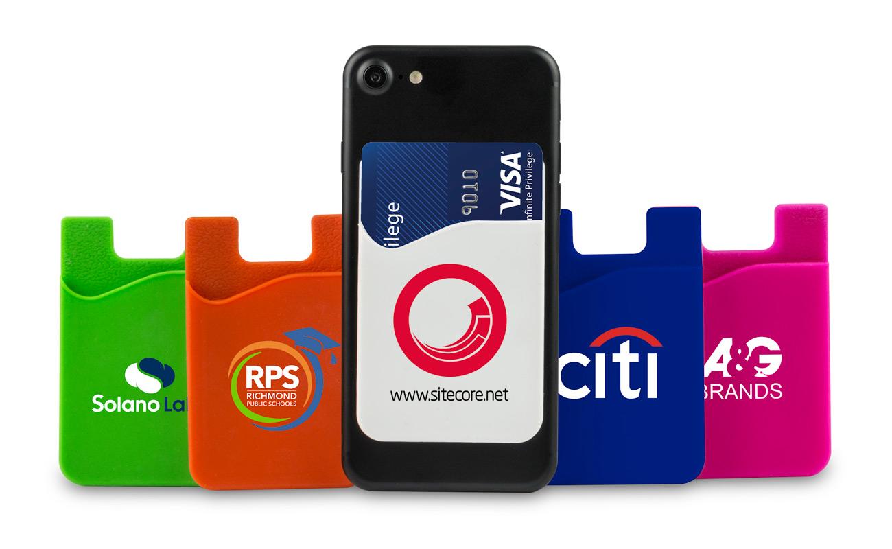 Slim - Bedrukte telefoon wallet