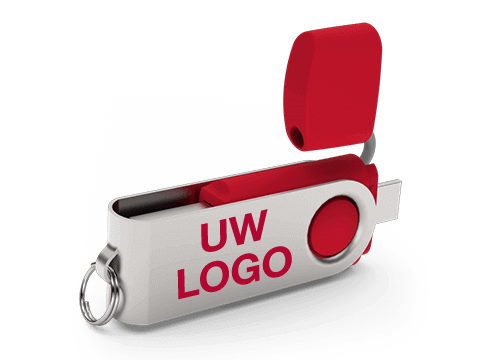Twister Go - Bedrukte USB Sticks