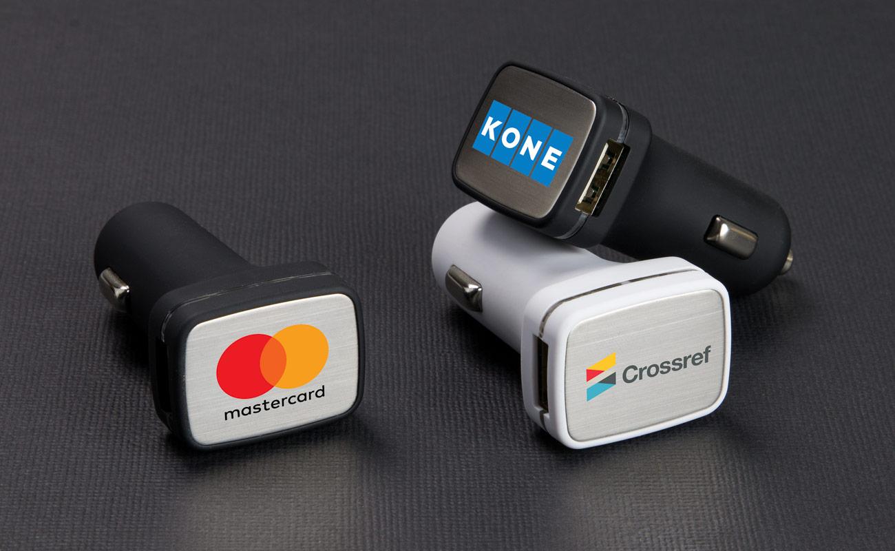 Zip - Gepersonaliseerde USB Auto lader